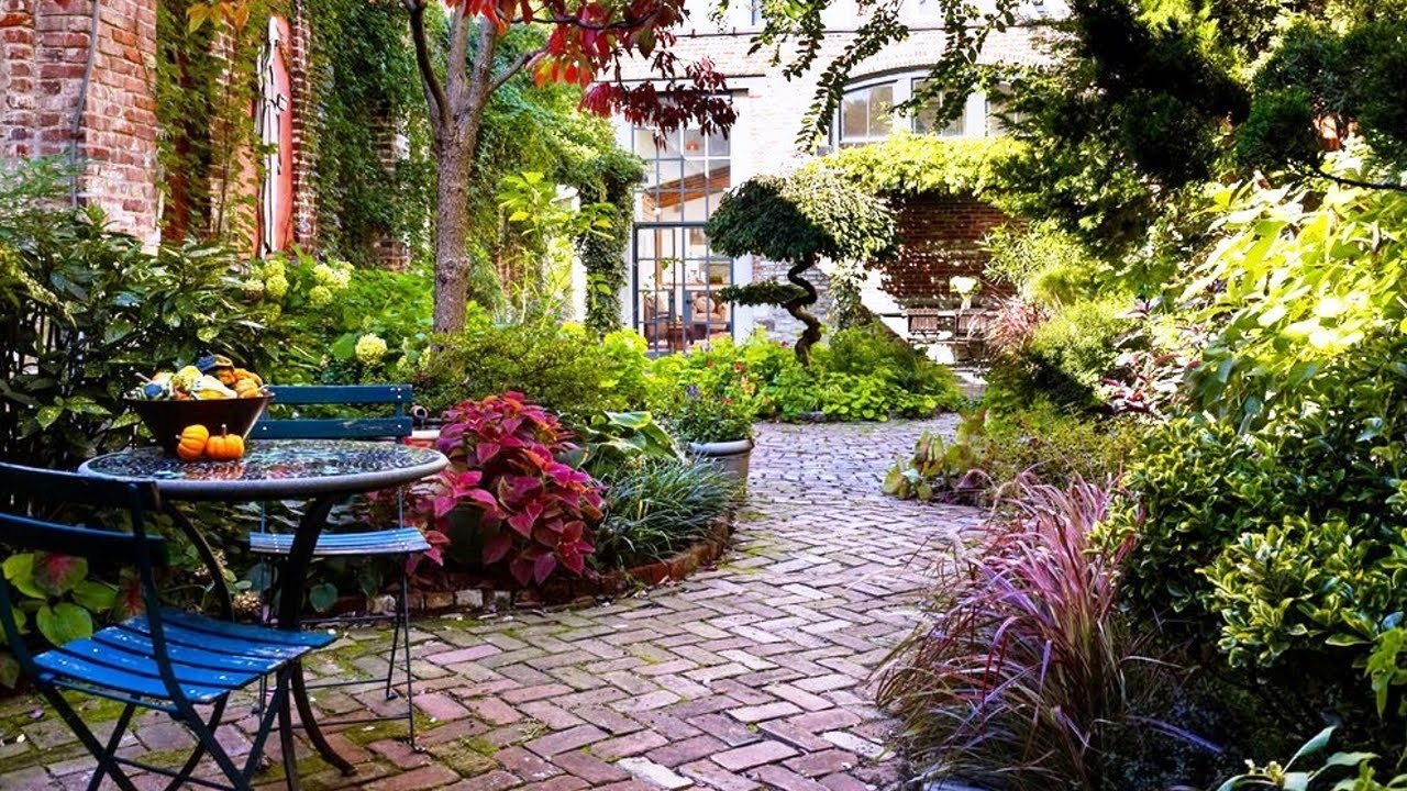 Lovely Courtyard Garden Design Ideas Youtube throughout 13 Clever Tricks of How to Make Backyard Courtyard Ideas