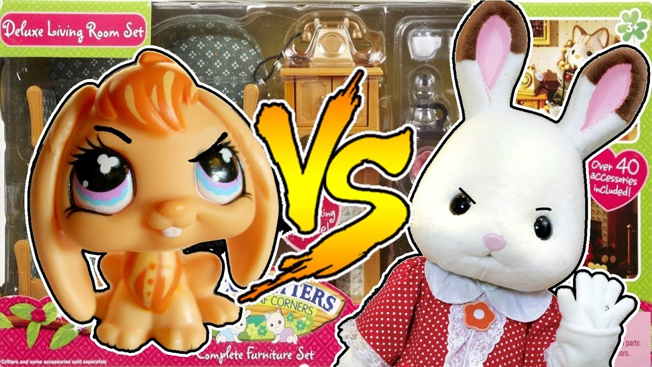 Lps Bunny Vs Real Bunny Calico Critters Deluxe Living Room Set with regard to 13 Some of the Coolest Initiatives of How to Build Calico Critters Deluxe Living Room Set