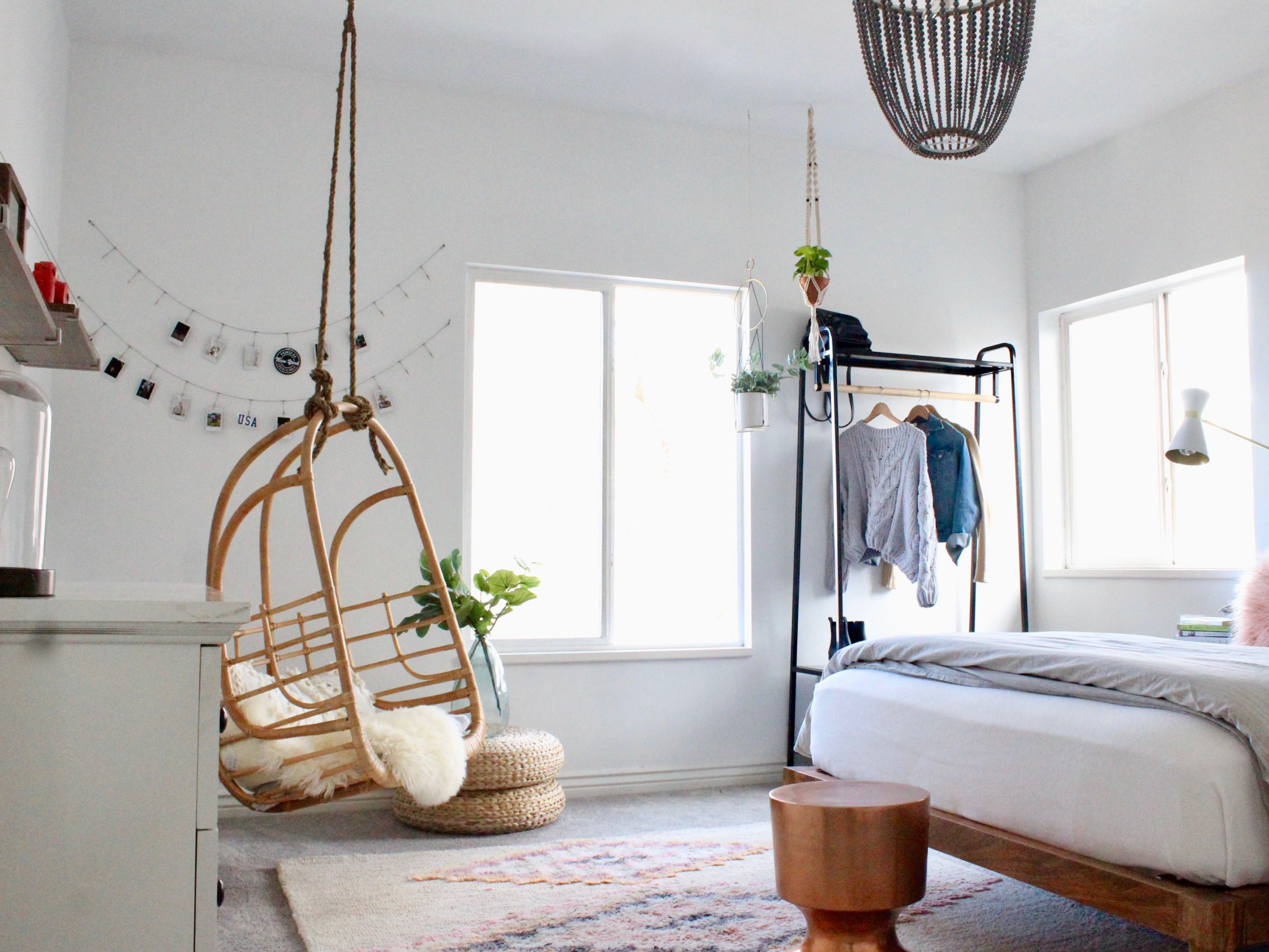 Modern Boho Teen Bedroom Afp Design pertaining to Modern Teen Bedroom