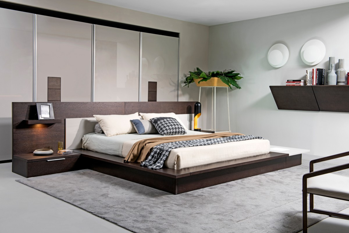 Modern King Size Bedroom Sets Off White Bedroom Furniture Grey Wood pertaining to 11 Smart Ideas How to Build Modern King Size Platform Bedroom Sets