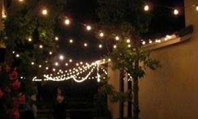 Outdoor String Light Ideas Lights Commercial Solar Including Awesome with regard to 15 Clever Ways How to Makeover Backyard String Lighting Ideas