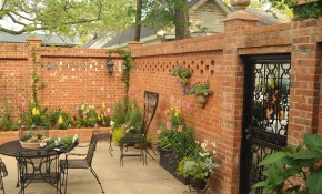 Photos Hgtv Outdoor Courtyard With Garden Artwork Clipgoo Condo regarding Backyard Courtyard Ideas