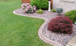 Rock Landscaping Ideas For Front Yard Calculator Dvmx Home Decor intended for Backyard Landscaping Ideas With Rocks