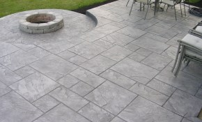 Stamped Concrete Patio Is Good Concrete Stencils Is Good Cement with regard to 10 Some of the Coolest Ways How to Make Cement Ideas For Backyard