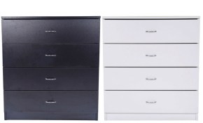 Us Modern Bedroom White Dresser Storage 4 Drawers Chest Cabinet Wood intended for 11 Some of the Coolest Concepts of How to Craft Modern Bedroom Dresser
