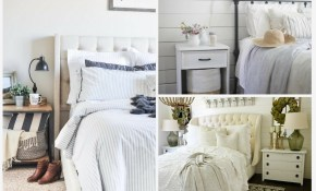 15 Farmhouse Bedroom Ideas Anyone Can Replicate The Weathered Fox regarding Modern Farmhouse Bedroom
