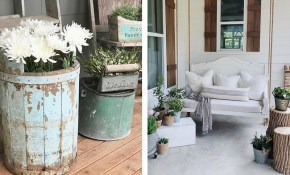 17 Best Farmhouse Outdoor Decor Ideas And Designs For 2019 throughout 13 Awesome Initiatives of How to Make Backyard Rooms Ideas