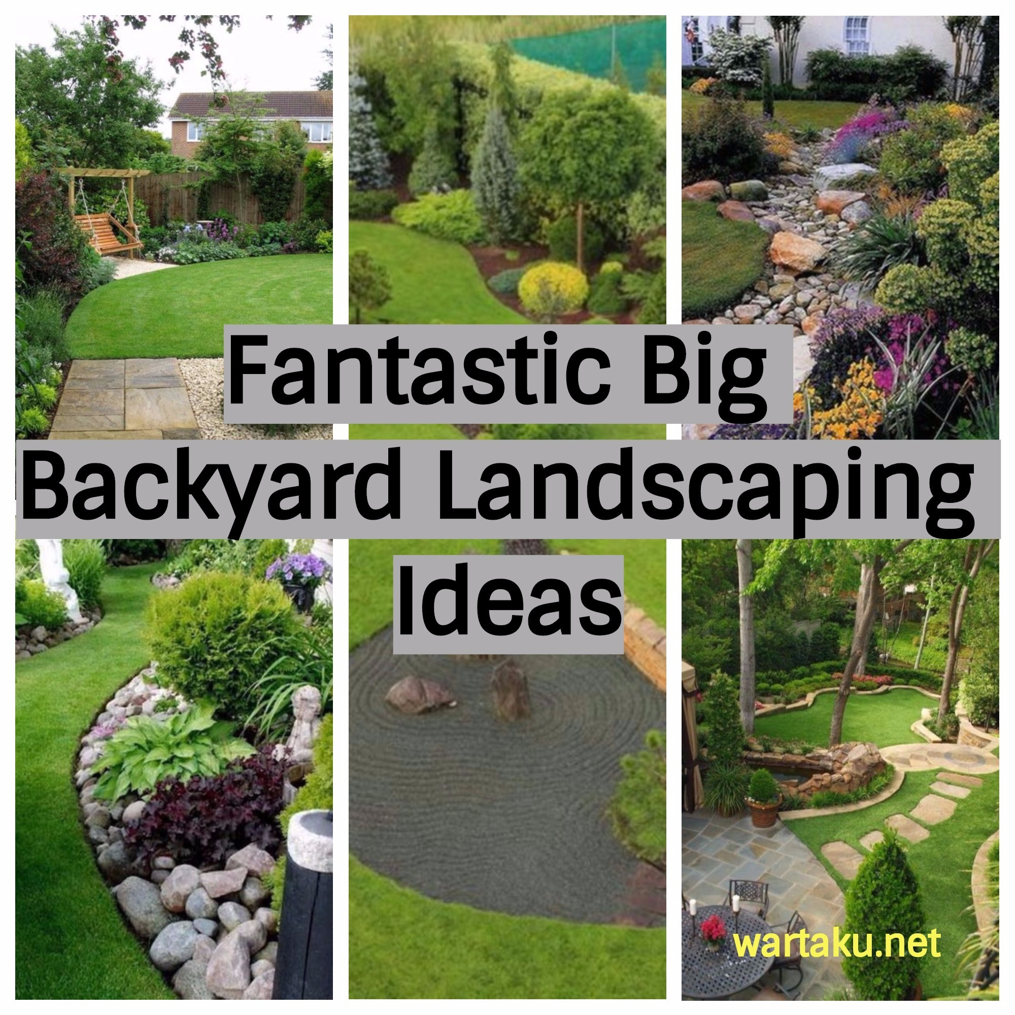 17 Fantastic Big Backyard Landscaping Ideas Wartaku with regard to 13 Clever Ideas How to Craft Large Backyard Landscaping Ideas