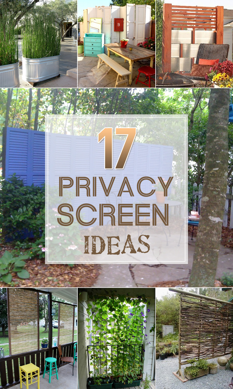 17 Privacy Screen Ideas Thatll Keep Your Neighbors From Snooping regarding Backyard Ideas For Privacy