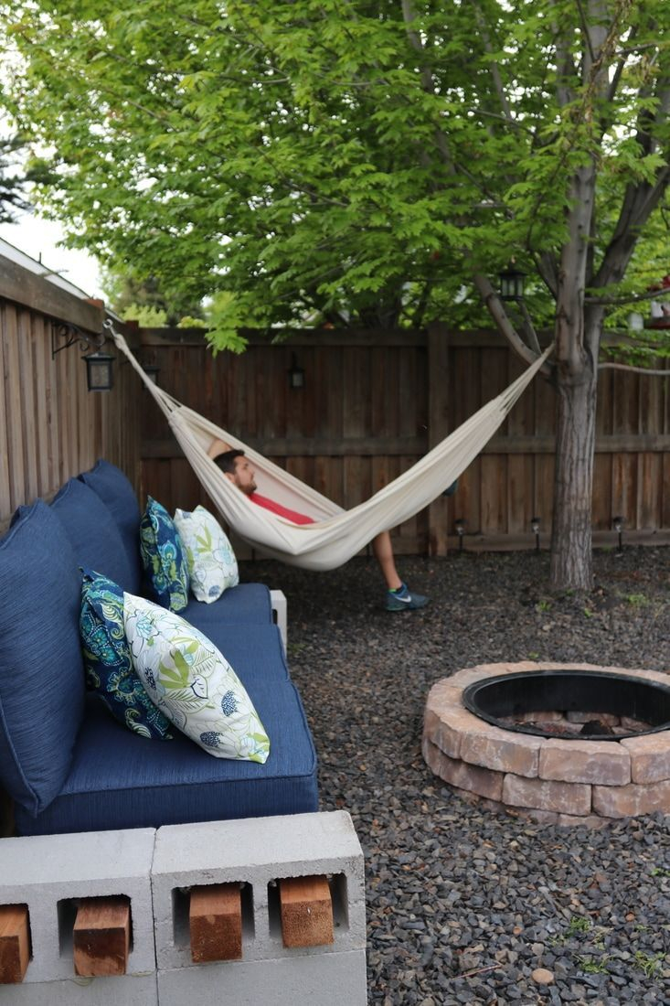 24 Lazy Day Backyard Hammock Ideas For Your Relaxation Area with Backyard Hammock Ideas
