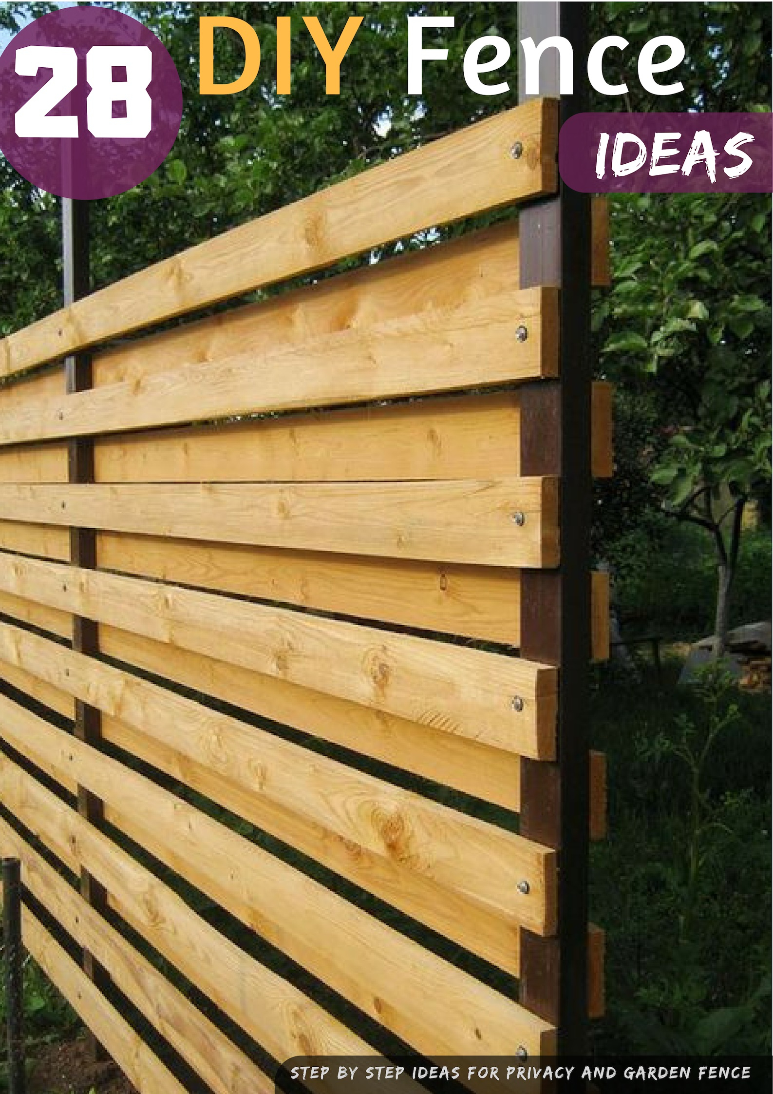29 Diy Fence Ideas Garden And Privacy Fence Ideas On A Budget in Cheap Backyard Fencing