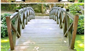 3 Diy Garden Bridge Plans Made With Wood Diy Crafts in Backyard Bridge Ideas