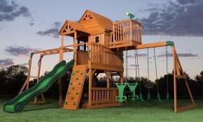 34 Amazing Backyard Playground Ideas And Photos For The Kids Of Course regarding 14 Smart Tricks of How to Make Playset Ideas Backyard
