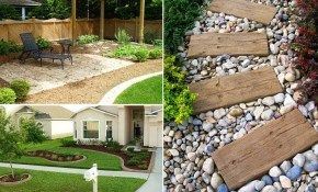 35 Easy Simple And Cheap Landscape Ideas For Front Yard Garden regarding 10 Some of the Coolest Tricks of How to Makeover Simple Backyard Landscaping Ideas On A Budget