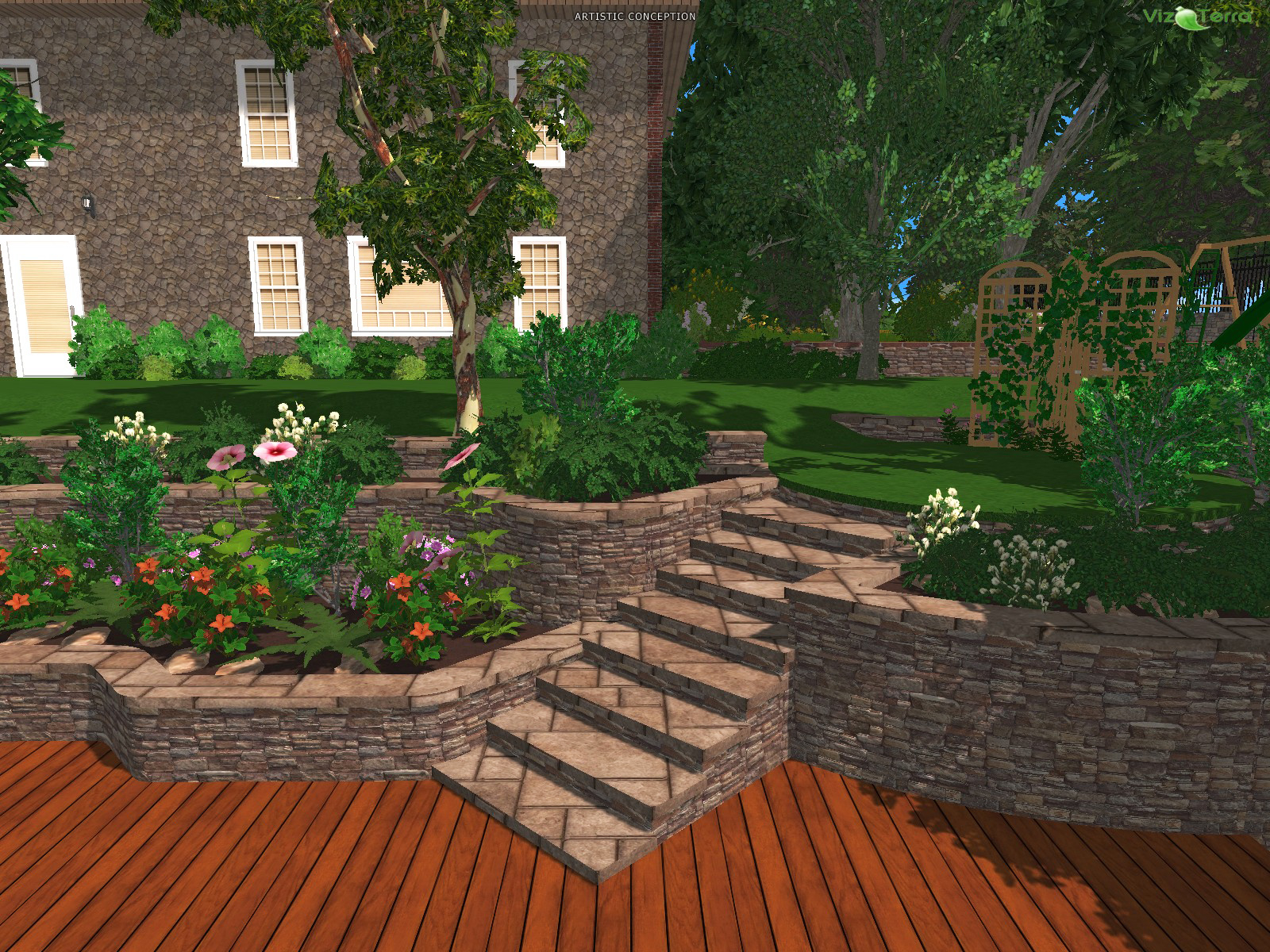 3d Landscape Design Software Landscape Ideas in Backyard Landscape Design Software Free