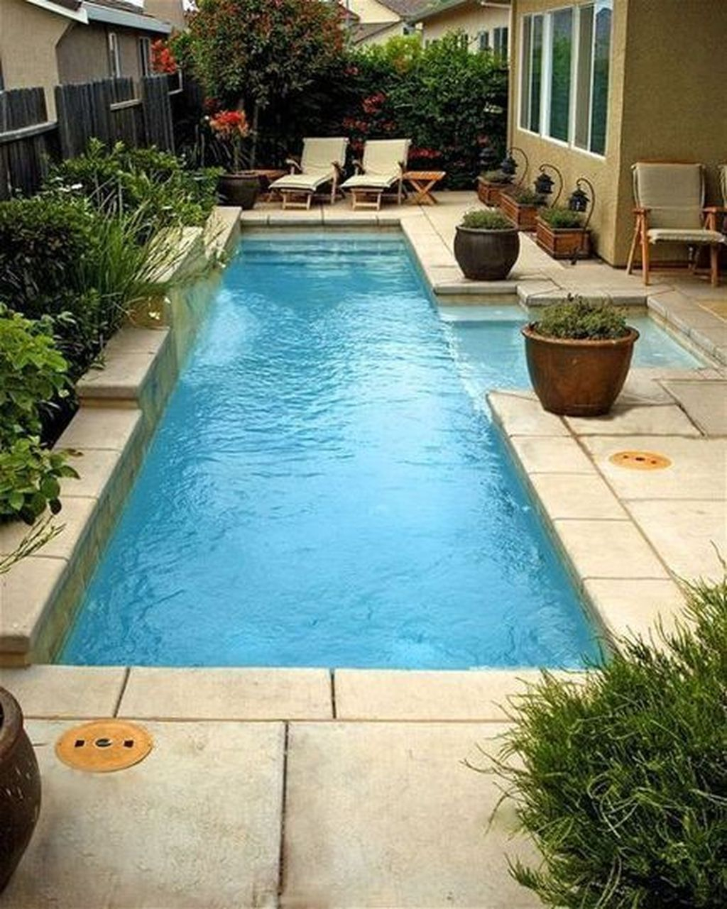 42 Awesome Swimming Pool Design Ideas For Backyard Swimming Pools throughout Small Backyard Pool Ideas