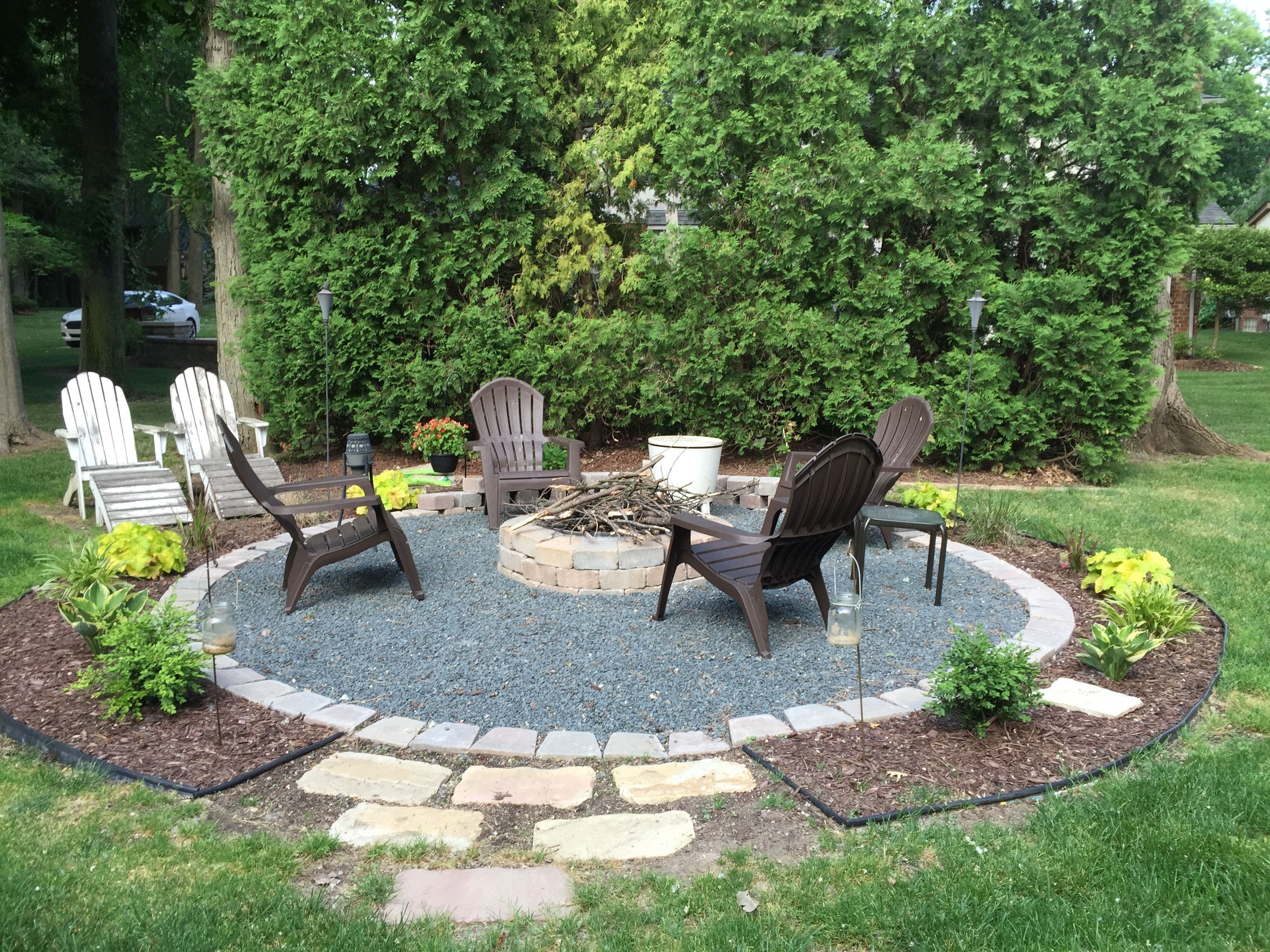 64 Diy Small Firepit Ideas For Outdoor To Wram Family Back Yard in Backyard Firepit Ideas