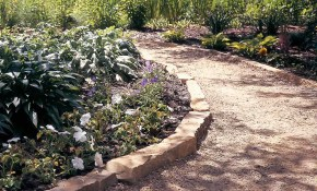 Affordable Garden Path Ideas Family Handyman for Backyard Sidewalk Ideas