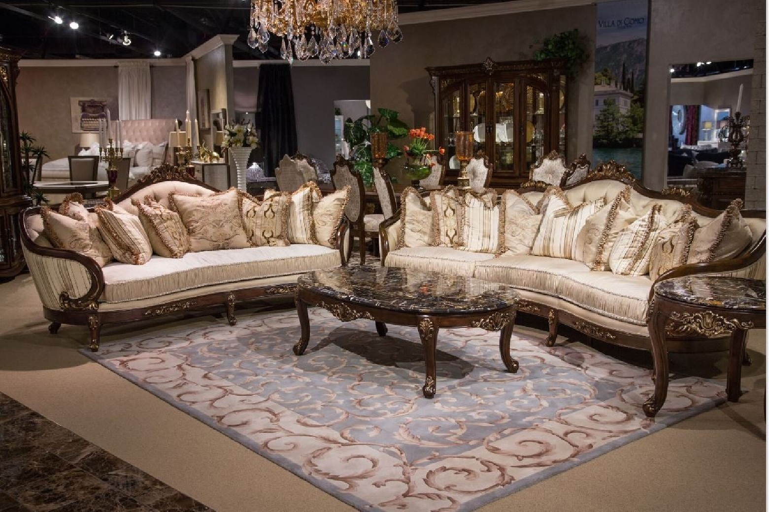 Aico Villa Di Como Living Room Collection Michael Amini throughout 14 Smart Ways How to Craft Aico Living Room Sets