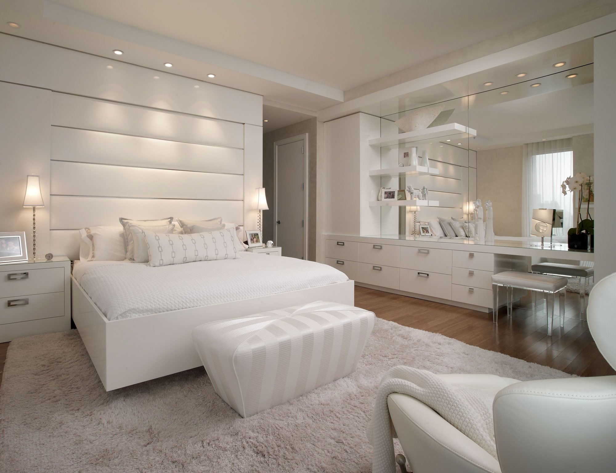 All White Bedroom Furniture Cileather Home Design Ideas with regard to All White Modern Bedroom