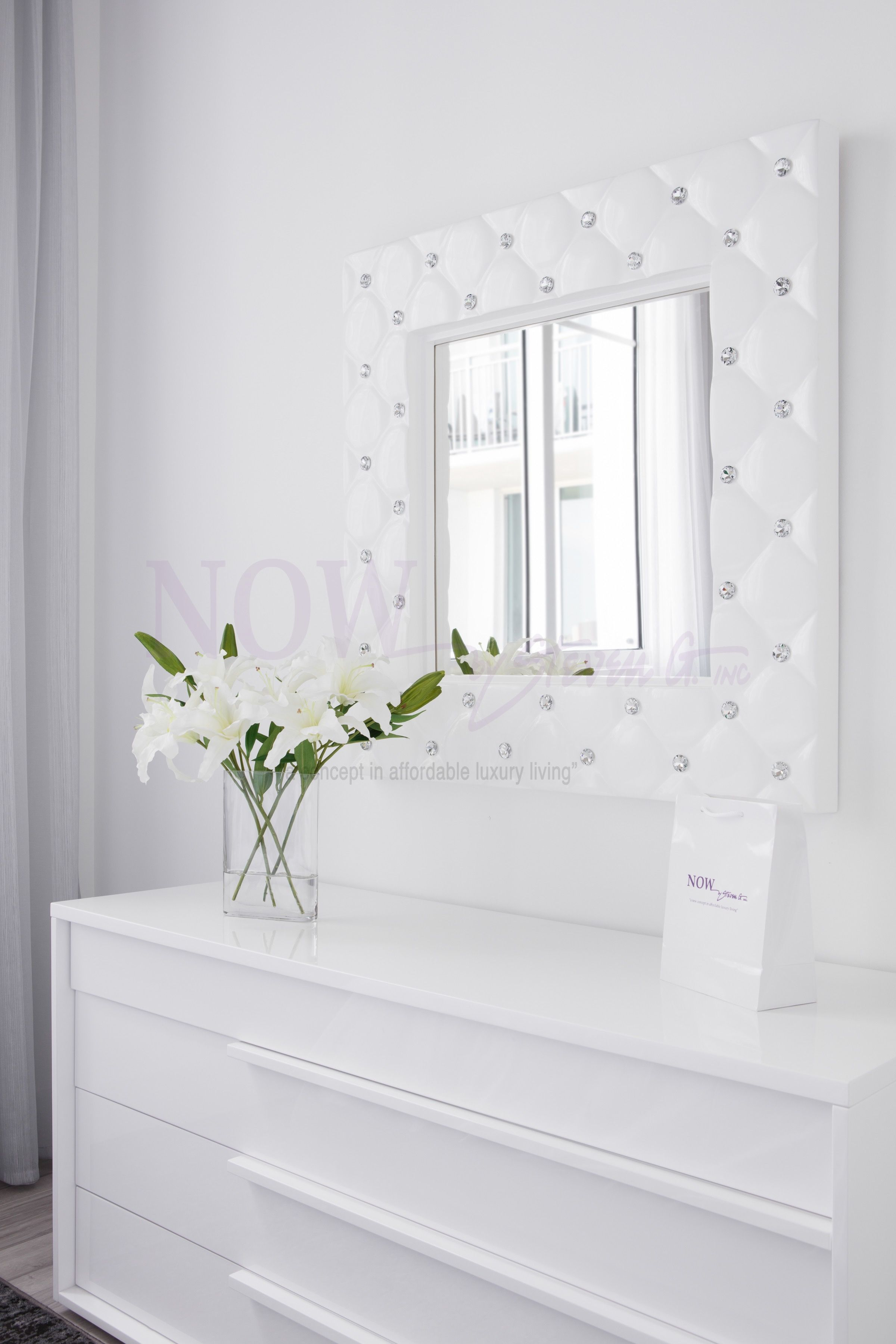 All White Modern Bedroom Dresser And Mirror With Accent Chair All inside 15 Awesome Designs of How to Makeover All White Modern Bedroom