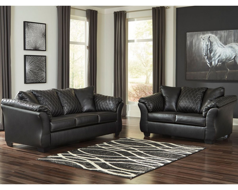 Ashley Betrillo 2pc Living Room Set In Black The Sleepers Shoppe with 12 Clever Initiatives of How to Improve Ashley Leather Living Room Sets