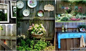 Backyard Fence Decoration Ideas Decoration Ideas in 16 Smart Designs of How to Makeover Ideas To Decorate Backyard