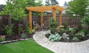 Backyard Landscape Design Ideas Paver Dvmx Home Decor Backyard pertaining to Backyard Landscaping Ideas With Pavers