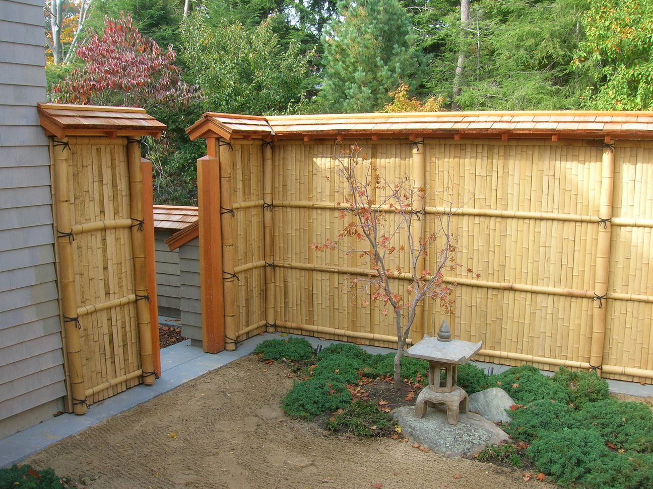 Bamboo Fencing Ideas For Your Backyard Advice For Your Home Decoration within 15 Smart Designs of How to Make Bamboo Ideas For Backyard