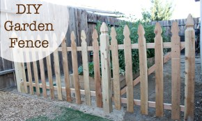 Build An Easy Diy Garden Fence No 2 Pencil regarding 13 Awesome Initiatives of How to Make DIY Backyard Fence