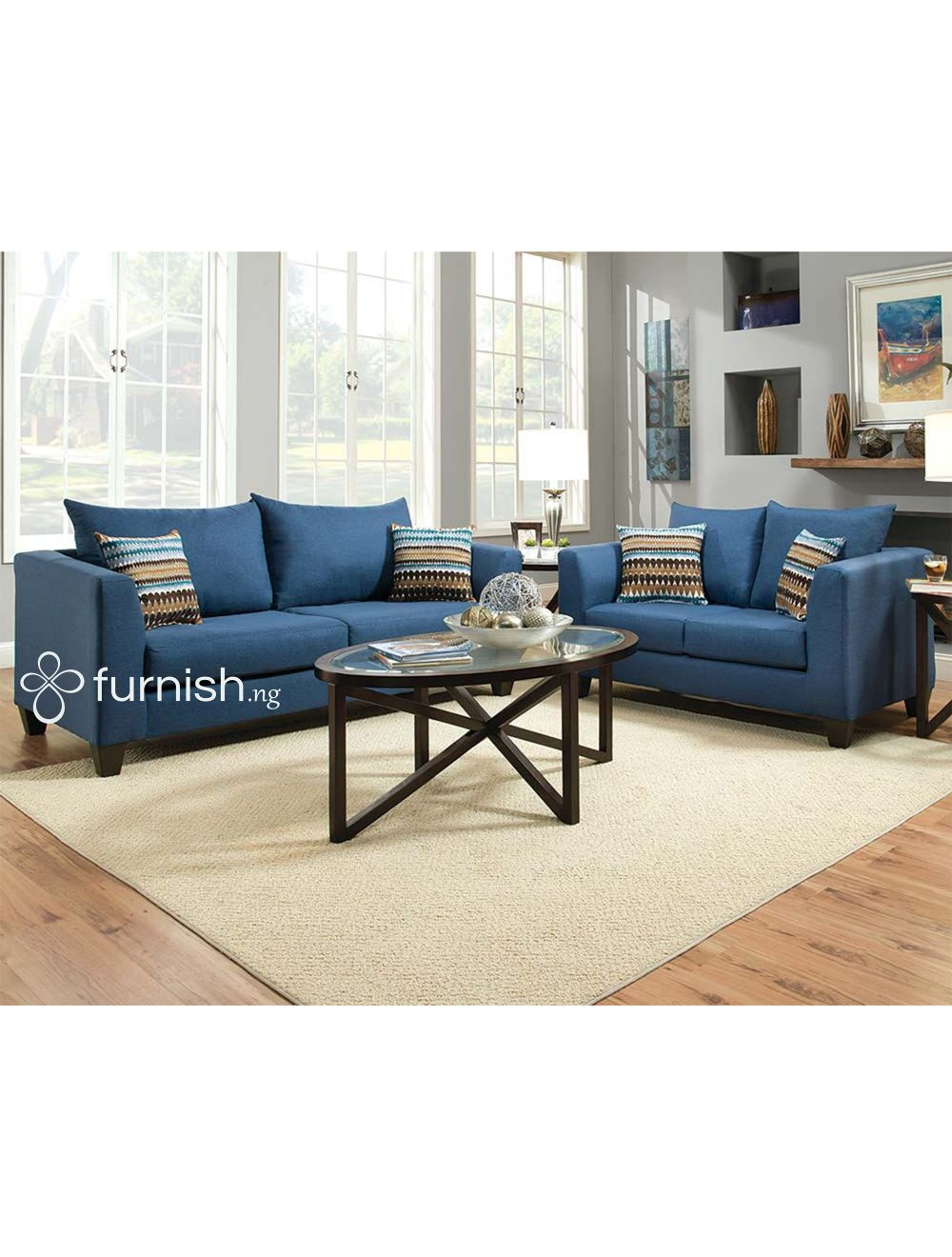 Buy The Ibinoze 5 Piece Modern Living Room Set 5 Seater Sofa Set 1 intended for 5 Piece Living Room Set