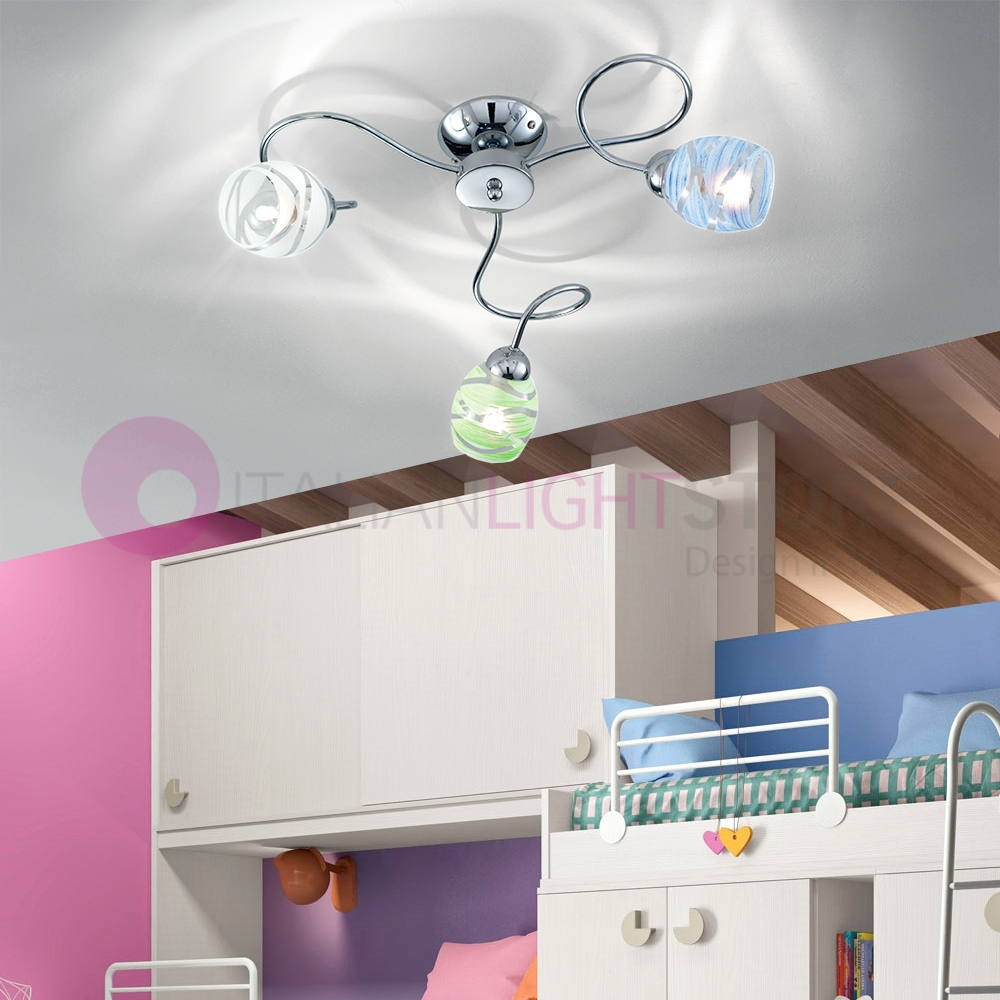 Camilla Ceiling Lamp Ceiling 3 Light Chrome Modern with regard to 11 Awesome Ways How to Craft Modern Bedroom Lighting Ceiling