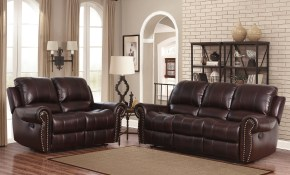 Dar Home Co Barnsdale Reclining 2 Piece Leather Living Room Set for 14 Some of the Coolest Initiatives of How to Craft Leather Living Room Sets