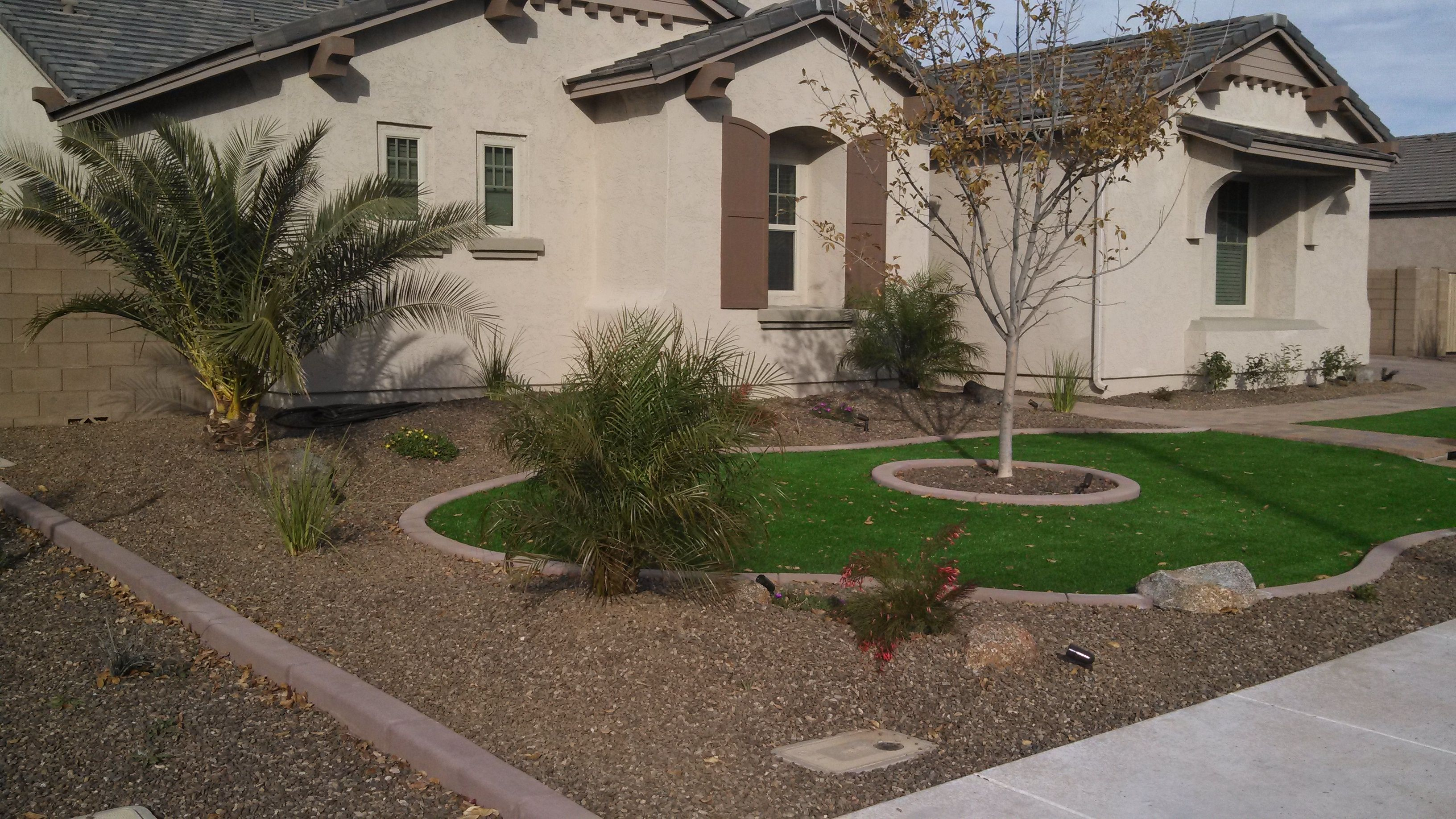 Desert Landscaping Ideas With Pavers And Artificial Turf Synthetic throughout 12 Some of the Coolest Ways How to Craft Backyard Landscaping Ideas With Pavers