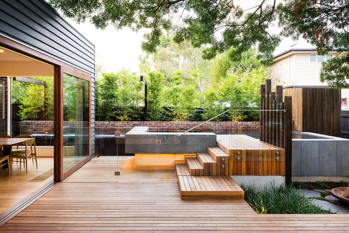 Family Fun Modern Backyard Design For Outdoor Experiences To Come with 10 Clever Concepts of How to Upgrade Backyard House Ideas