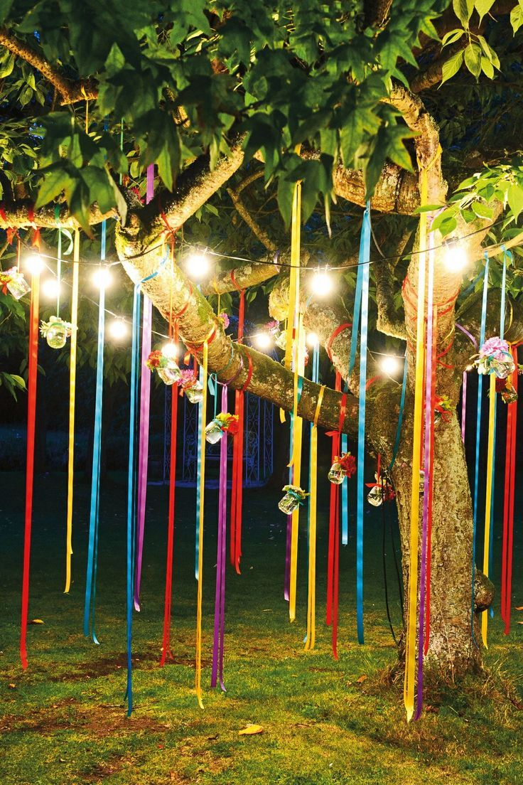 Fun Outdoor Birthday Party Dcor Ideas Shayna Party Outdoor within Ideas To Decorate Backyard