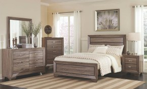Gabriel 5pcs Modern Bedroom Set Furniture W Light Brown King Size pertaining to 10 Clever Ideas How to Improve King Size Bedroom Sets Modern