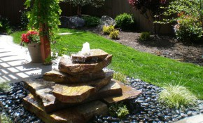 Ideas For Homemade Water Fountains in 13 Genius Ways How to Improve Backyard Fountains Ideas