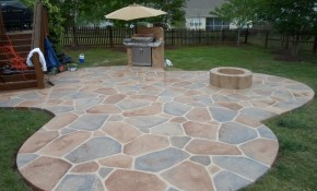 Interior Design Patio Ideas Stone Patio Designs Home Improvement intended for 11 Smart Initiatives of How to Craft Backyard Stone Patio Design Ideas