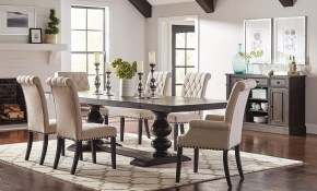 Kitchen Dining in 10 Clever Concepts of How to Upgrade Living Room And Dining Room Sets