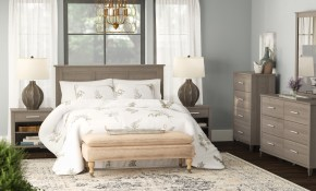 Laurel Foundry Modern Farmhouse Valencia Queen 6 Piece Bedroom Set in Modern Bedroom Sets