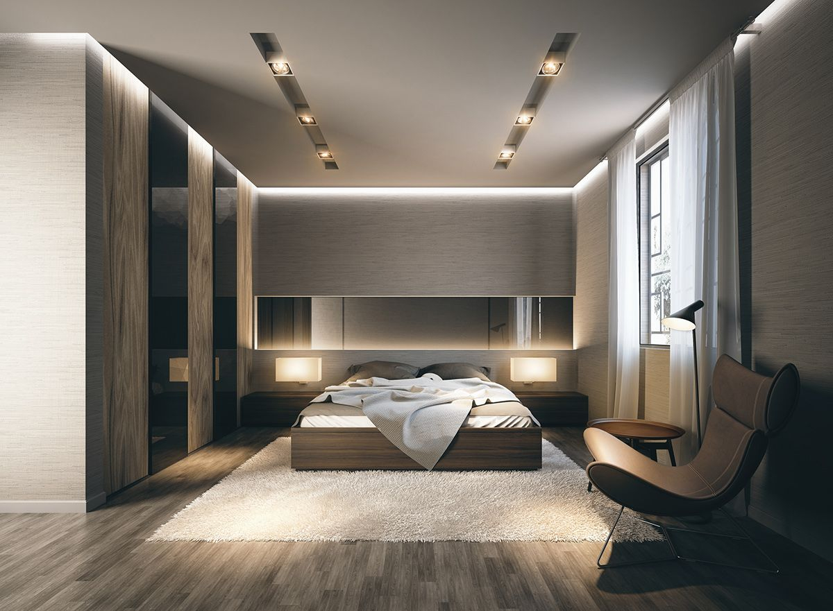 Mid Century Modern Bedroom Set Design Ideas Youll Love Bedroom intended for Modern Bedrooms Designs