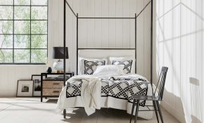 Modern Farmhouse Bedroomblack White Bedroom Ideas Ea Design pertaining to Modern Farmhouse Bedroom