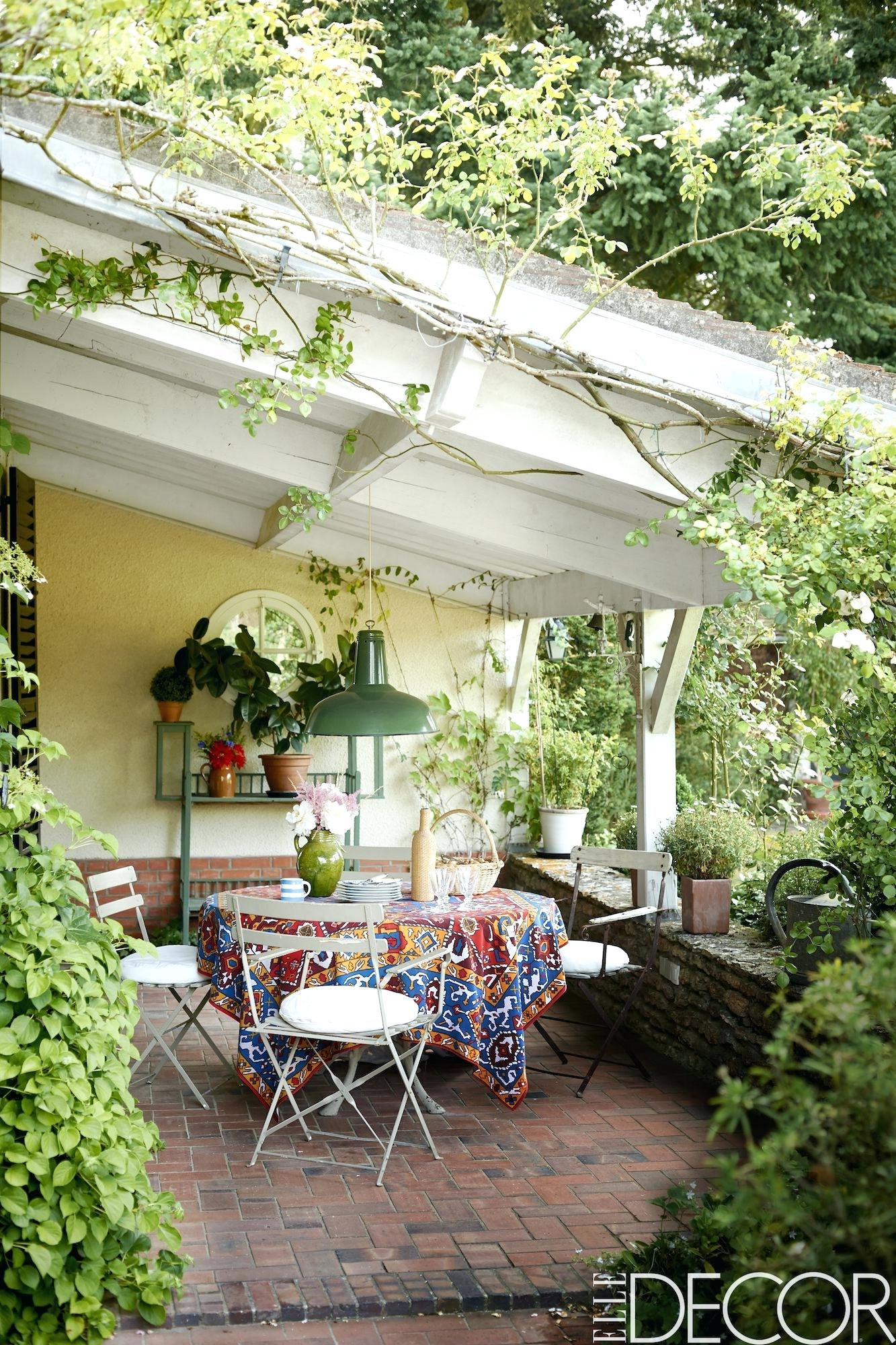Patio Ideas For Small Yards Delightful Secluded Patio Backyard within Backyard Design Ideas For Small Yards