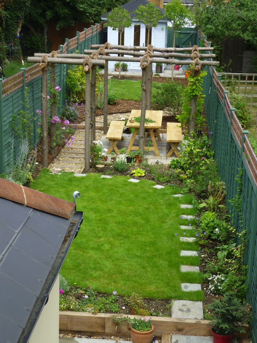Plant Sculpture Like Youve Never Seen Before Gardens Sloped throughout Long Backyard Ideas