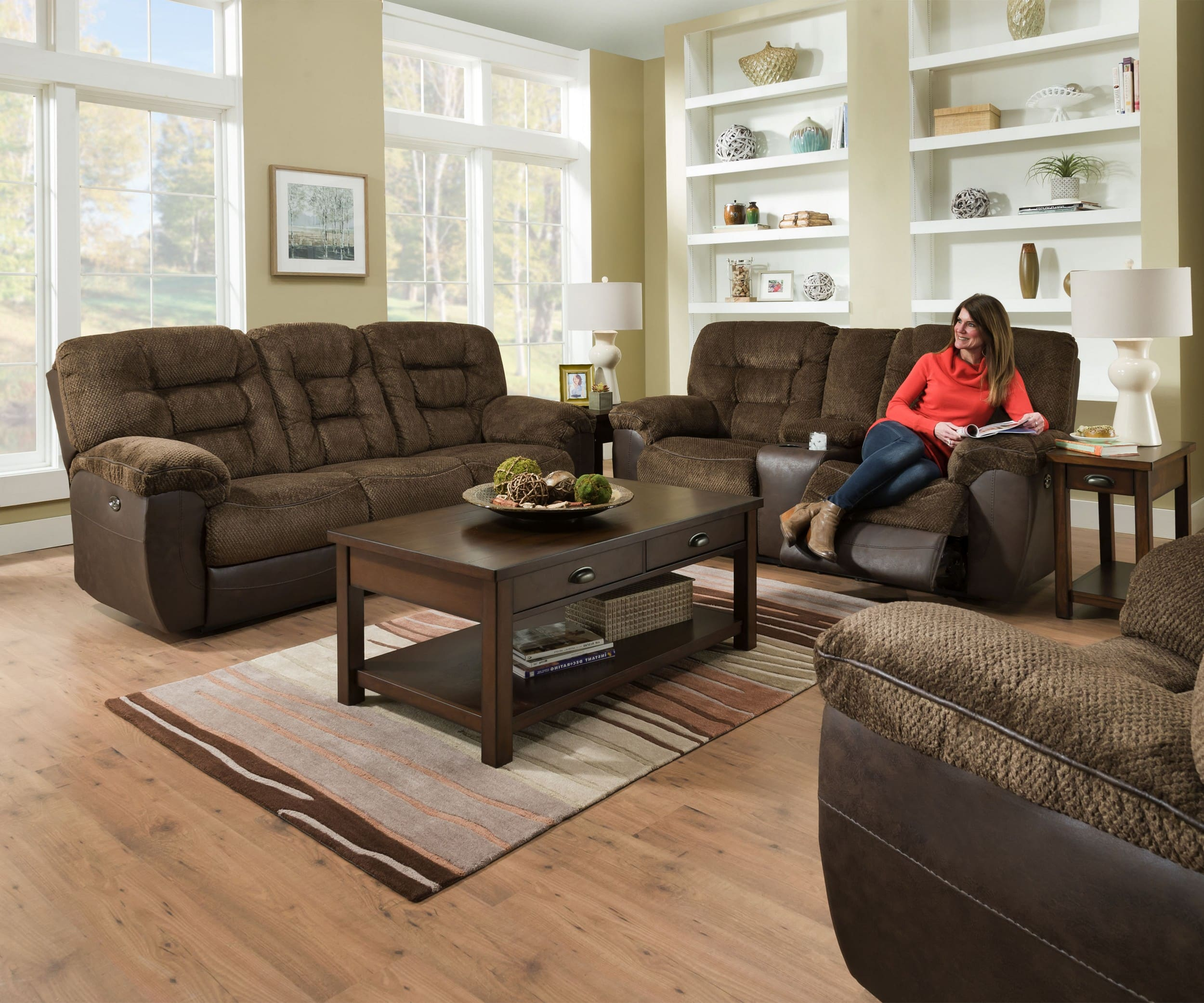 Simmons Upholstery Darcy Chocolate Reclining 2 Piece Living Room Set with 14 Clever Concepts of How to Build Simmons Living Room Set