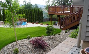 Simple Small Backyard Landscaping Ideas Youtube intended for Simple Backyard Landscaping Ideas On A Budget