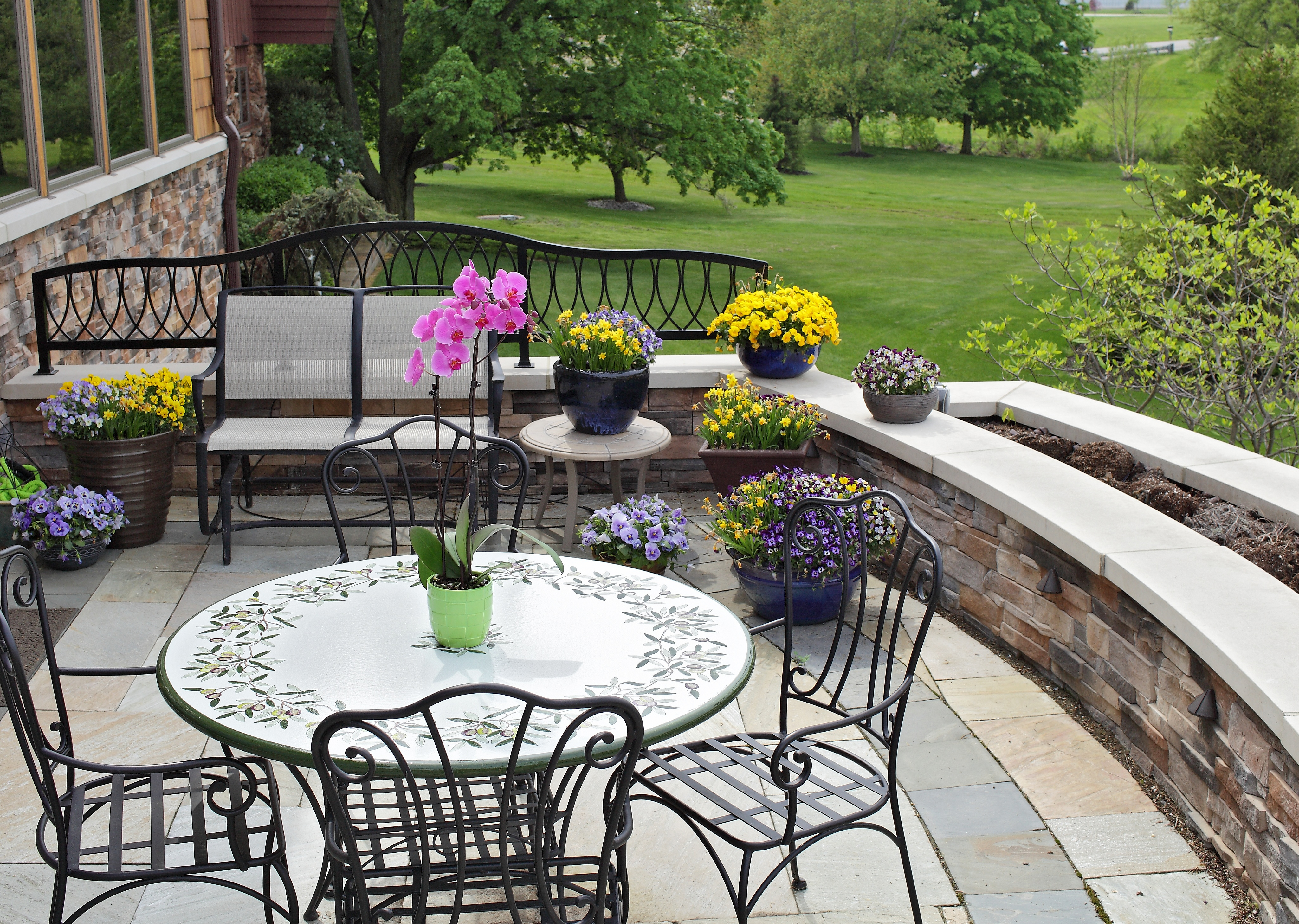 Summer Decorating Ideas Indoor Plants That Add Flair To Your Backyard throughout Decorating A Backyard