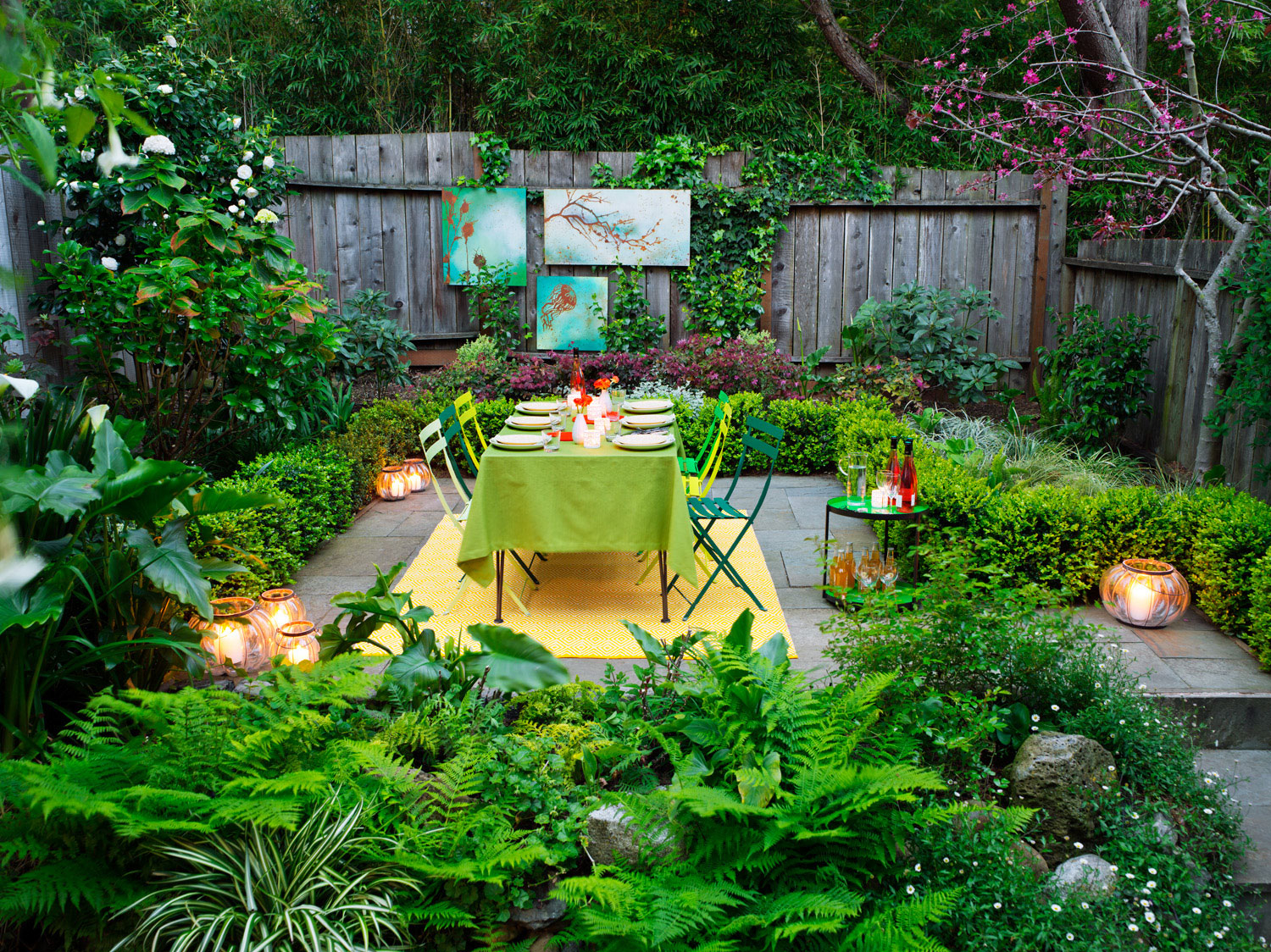 Sunset Magazine with Backyard Decorating Ideas For Parties