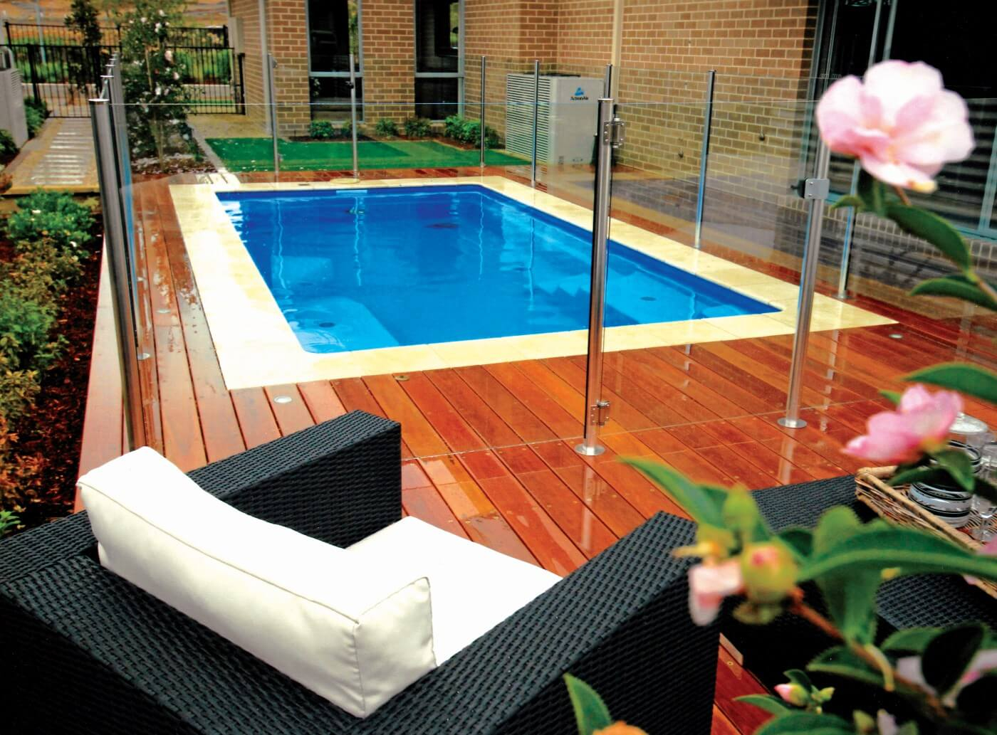 The Best Pool Design Ideas For Your Backyard Compass Pools Australia within 10 Awesome Ideas How to Make Small Backyard Pool Ideas
